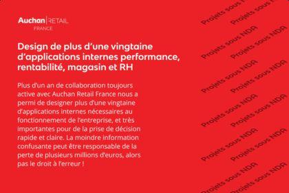 Applications internes Auchan Retail France