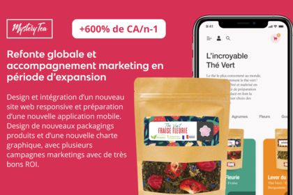 Boost marketing et redesign site web et packaging