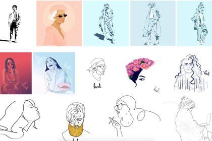 Compilation des différents styles d'illustration