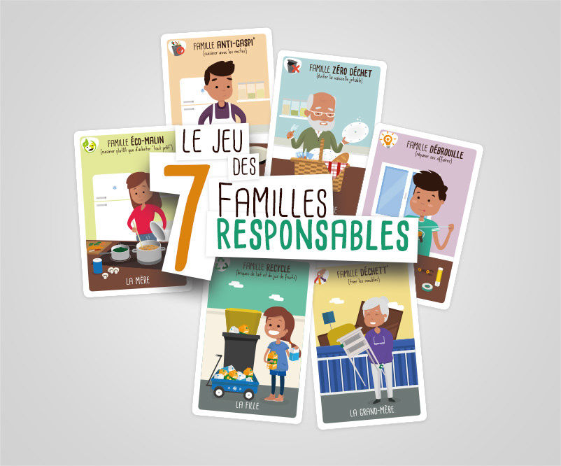 7 familles responsables