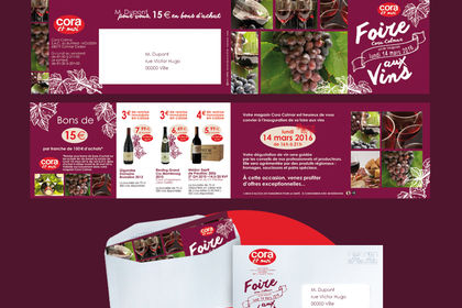 CARTON INVITATION marketing direct