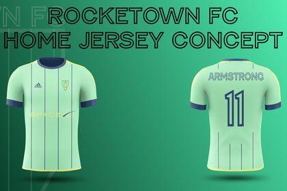Rocketown FC Home Jersey