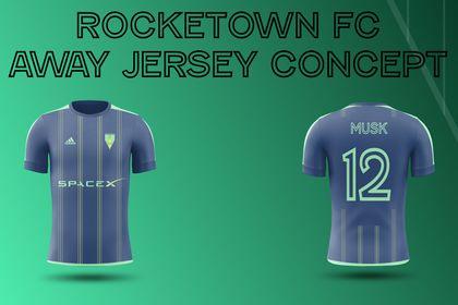 Rocketown FC Away Jersey