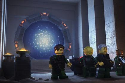Stargate Lego 3D - Adbydos