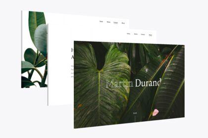 Site web - portfolio