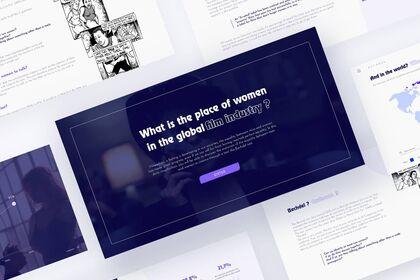 Site web sur la place de la femme dans le cinéma