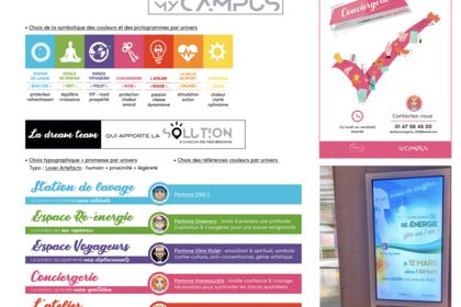 Charte graphique L'Oréal - My Campus