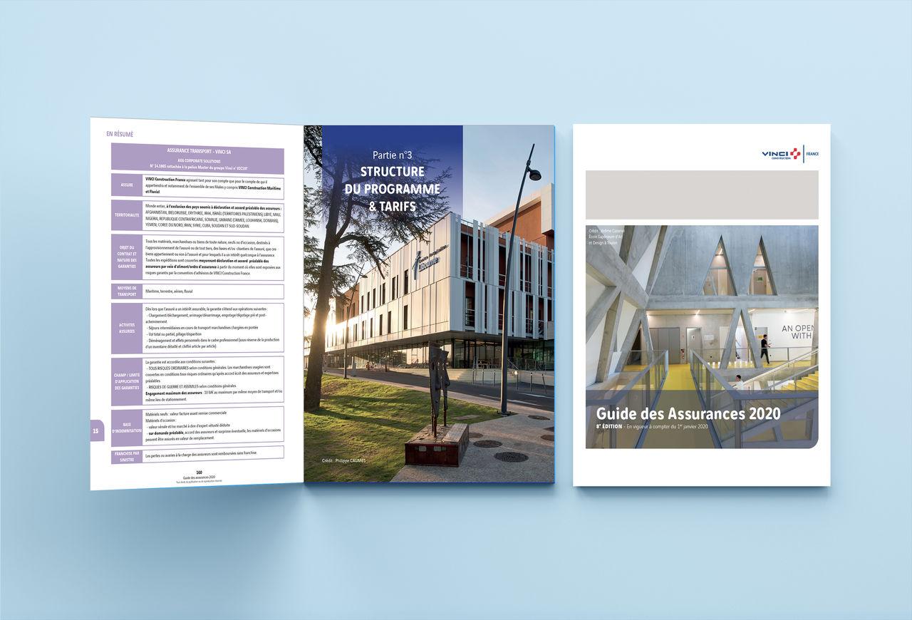 Edition : Guide Assurances 2020 - VINCI
