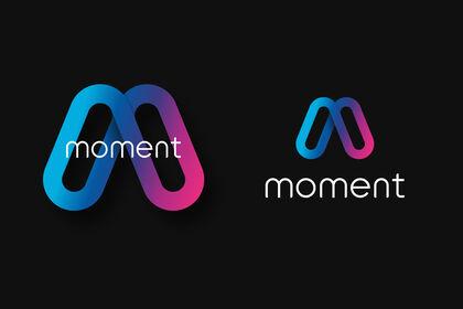 """Identité visuelle """"Moment"""""""