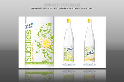 Packaging gamme eau minérale