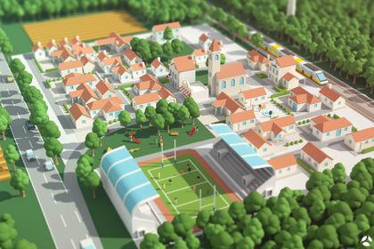 Village en flat