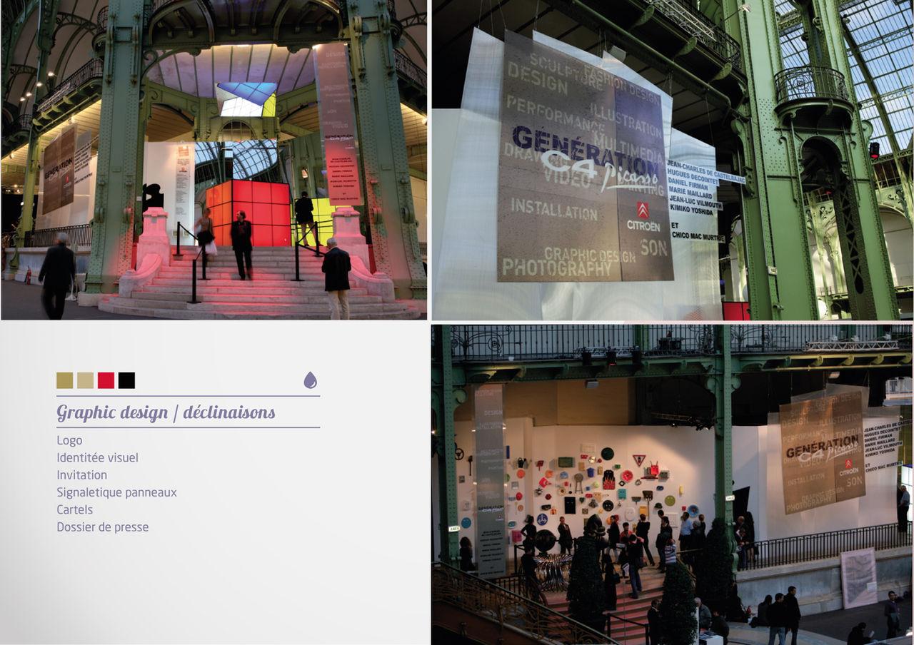 Génération C4 Picasso / Exposition FIAC