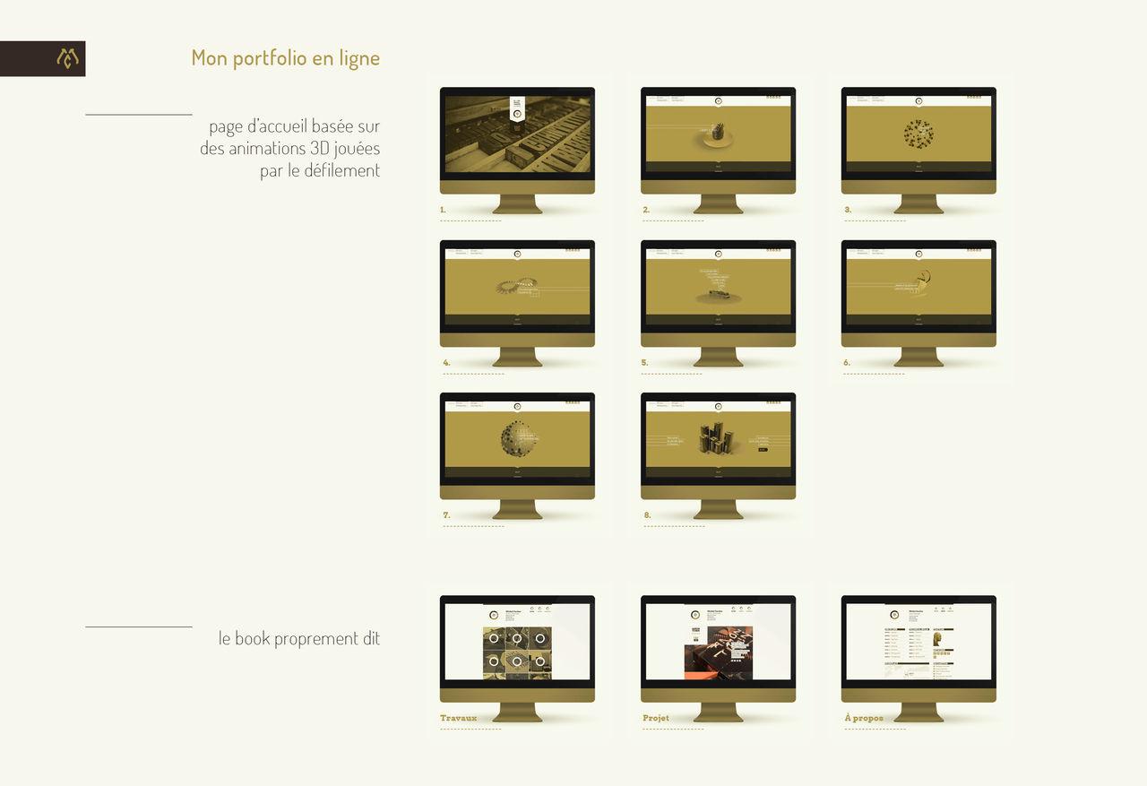 Mon portfolio en ligne