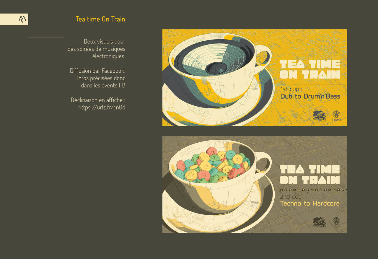 Tea Time on Train
