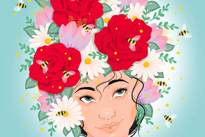 ILLU-Girlflower-Adelineb