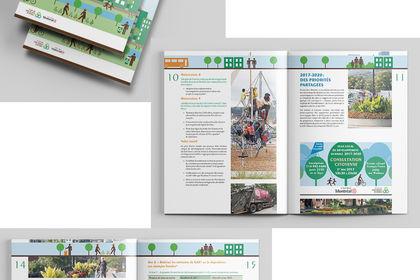 Brochure informatif du Plan local de développement