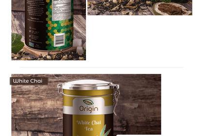 Emballage de thé Origin