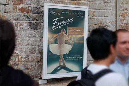 Affiche Spectacle école de danse