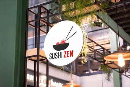 Création de logo - Sushi Zen (exercice)