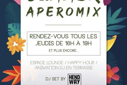 Flyer Aperomix - AU BUREAU