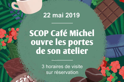 Illustration pour Café Michel