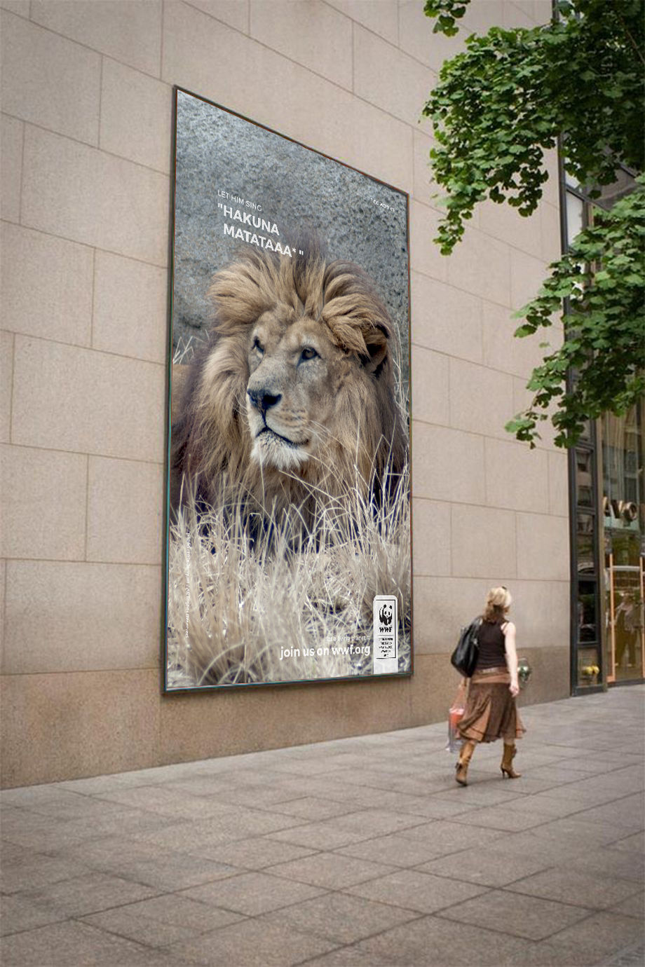 Campagne WWF - Affiche