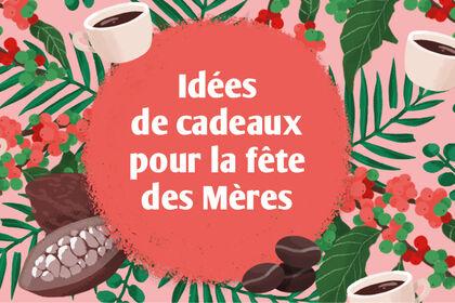 Illustration pour la fête des mères - Café Michel