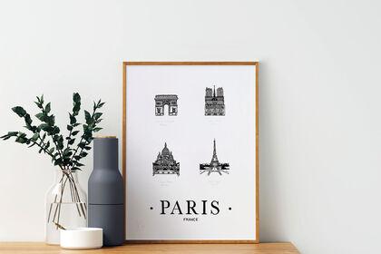 Gravure Paris