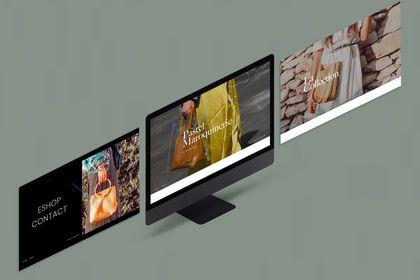 Webdesign - Pastel Maroquinerie