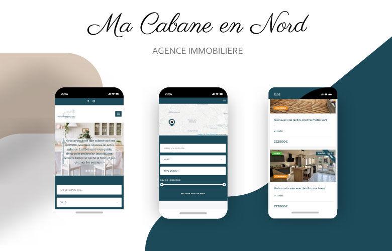 Création de site web immobilier
