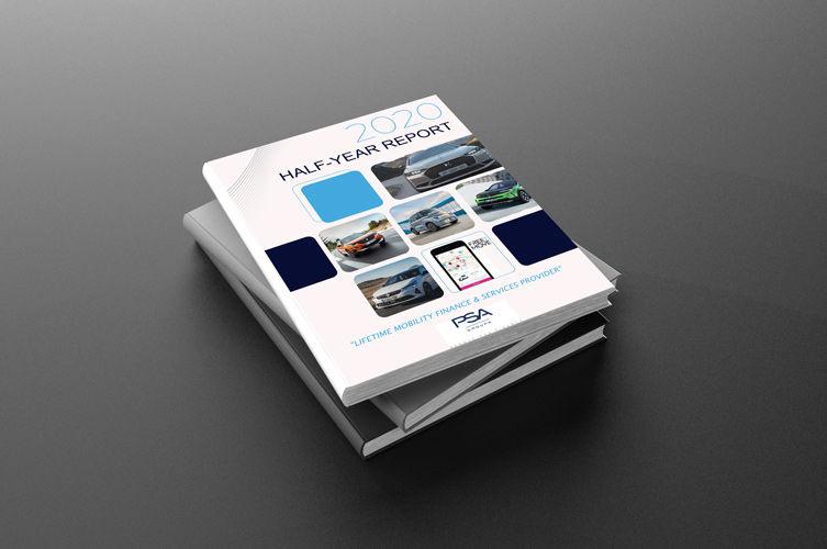 Design de couverture brochure entreprise