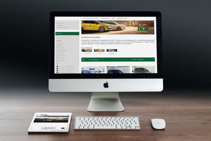 Création de site vitrine - Location de véhicules