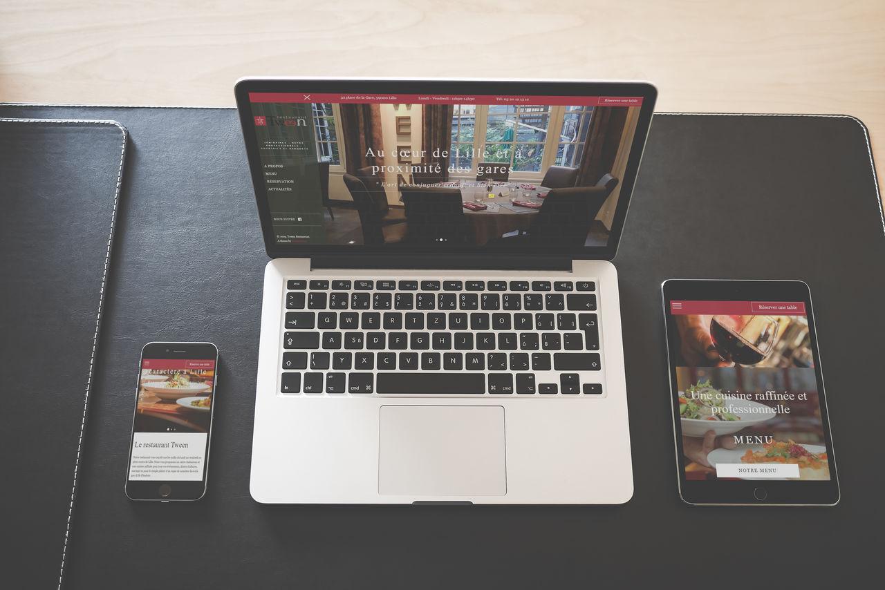 Création d'un site - Restaurant