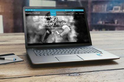 Création de site vitrine - Football américain