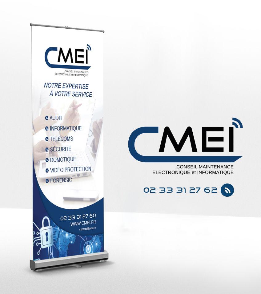 C.M.E.I. Logotype et Kakémono
