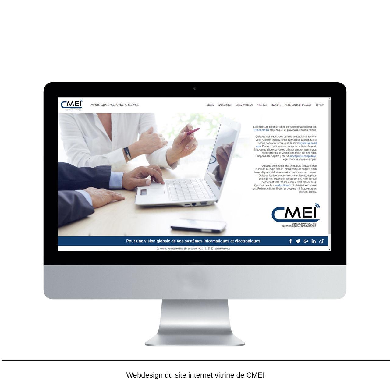 Webdesign CMEI