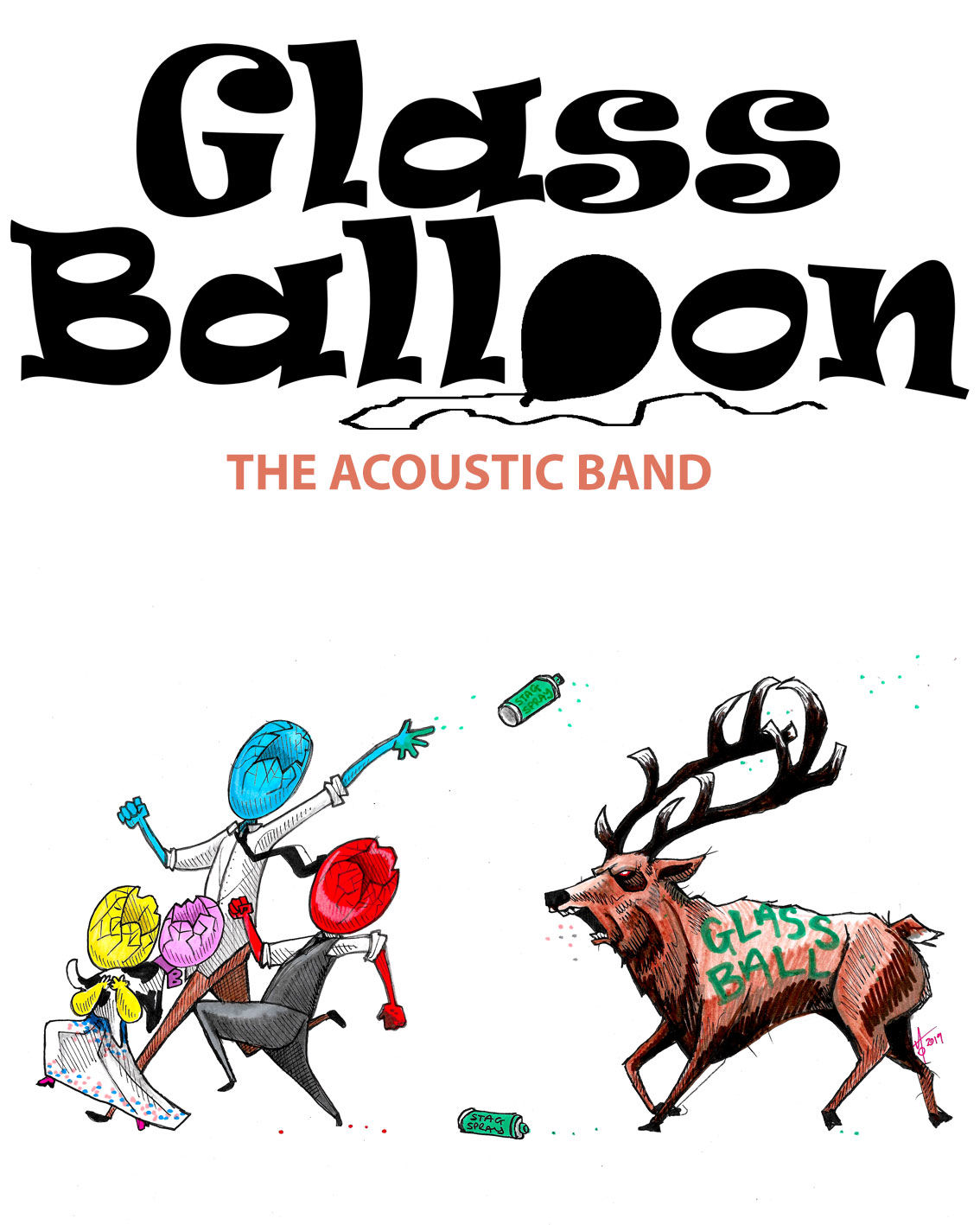 Affiche Glass Balloon (Groupe de musique)