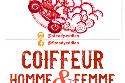 Coiffeur : Steady Eddies