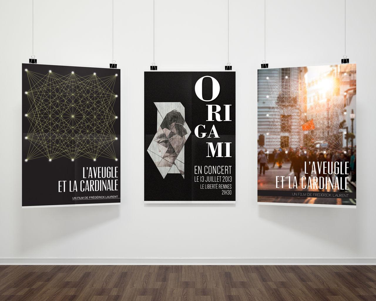 Réalisation d'affiches - La dent du géant