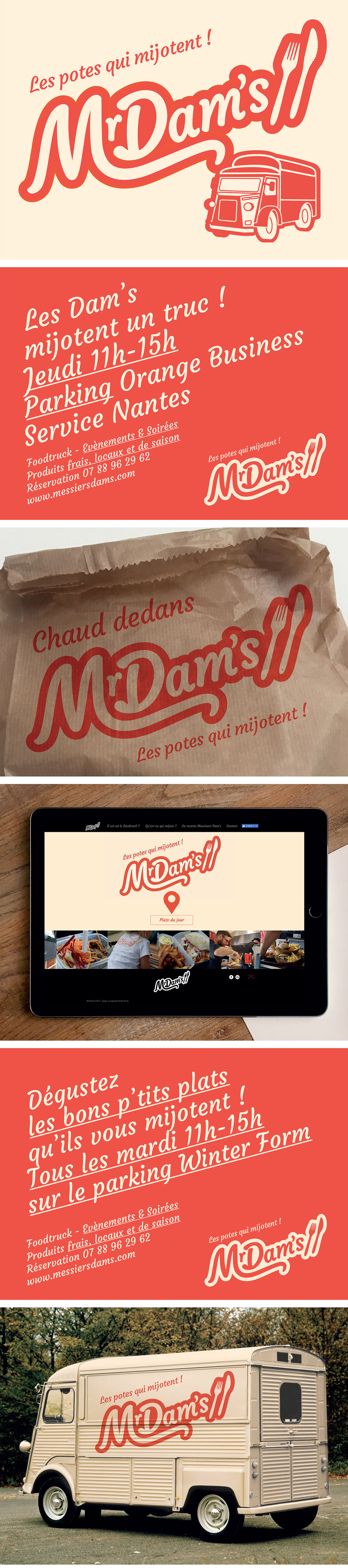 Mr Dam's - Foodtruck Nantes