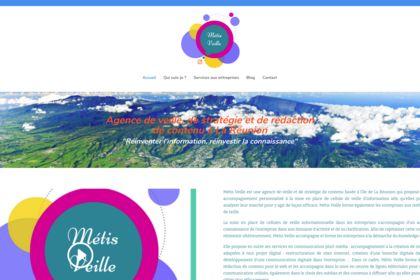 Site réalisé sous Wordpress