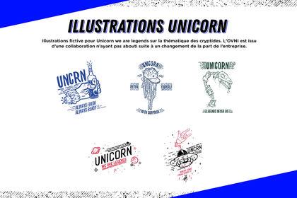 Illustrations Unicorn