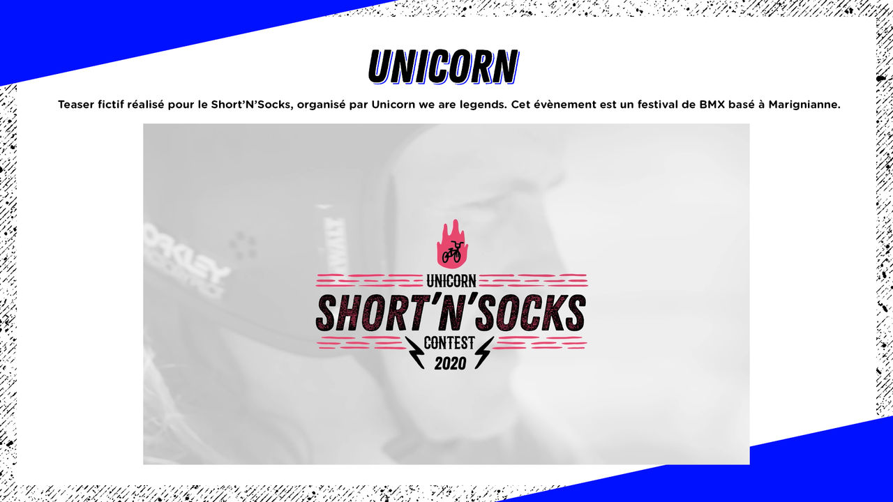 UNICORN SHORT'N'SOCKS 2020