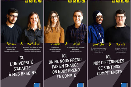 Roll'up Relais handicap - Université La Rochelle