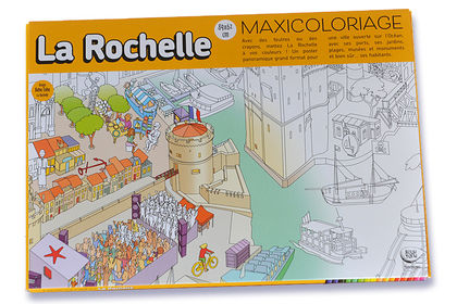 Maxicoloriage de La Rochelle