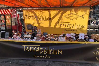 Bâches et devanture de marché Terra Délicium