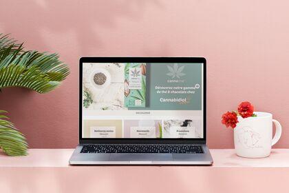 Webdesign Cannabidiol Paradise