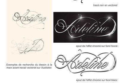 Logotype Adeline