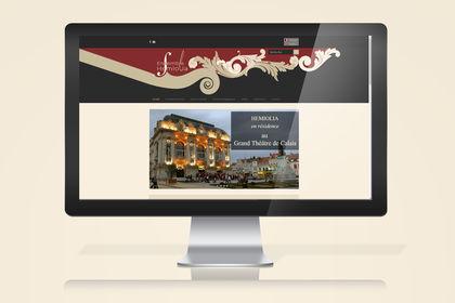 Graphisme web site Hemolia