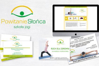 Identité visuelle de L'ecole de yoga